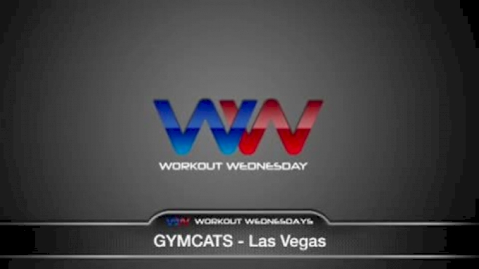Workout Wednesday at Gymcats with Coach Cassie Rice