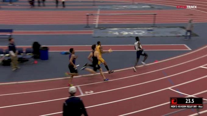 Men's 4x400m Relay Inv, Heat 1