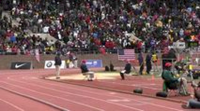 Robby Creese Penn State 1st Place 7:19.76 4x8 Men's Championship of America Finish Penn Relays 2012