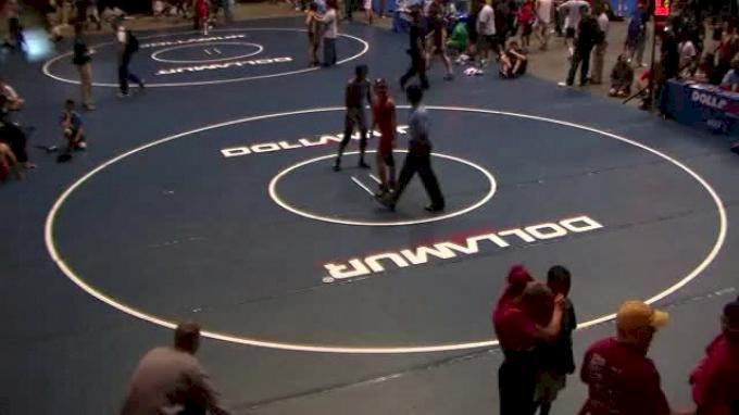 Tori Smith vs. Gurleen Chahal round 3 Ca USAW CADET state 108