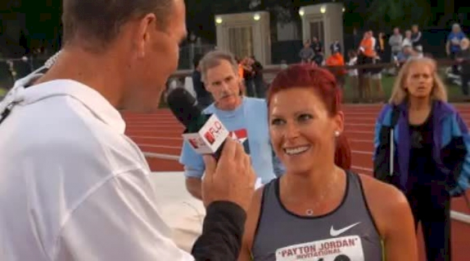 Anna Pierce back after World leading 1500 win at 2012 Payton Jordan Invite
