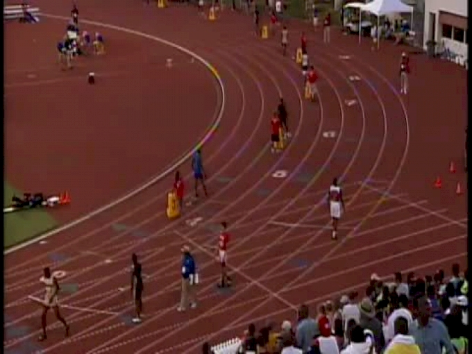 B 4x400 (5A, Duncanville and Bailey anchor at UIL Texas 2012)