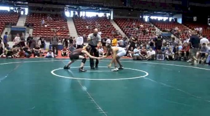 105 lbs semi-finals Suriano Apex vs. Bierdumpfel Iron Horse
