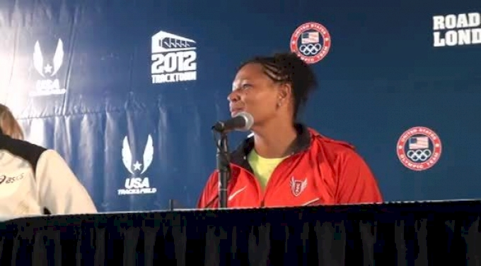 Aretha Thurmond on discus career at 2012 US Olympic Trials