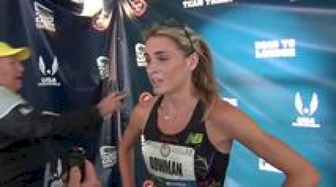Sarah Bowman overcomes challenges to finish 5th in 1500 at 2012 U.S. Olympic Trials