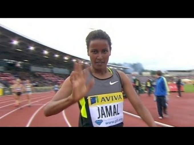 Jamal wins 1500m over Simpson in London Diamond League