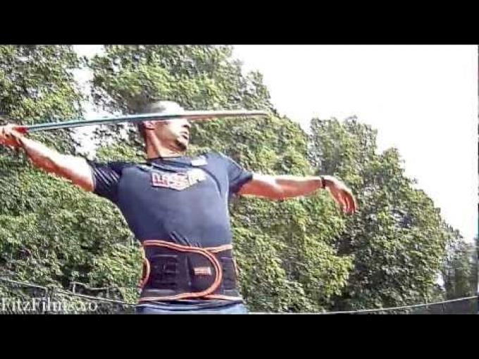 Craig Kinsley - London 2012 - Team USA - Javelin (HD)