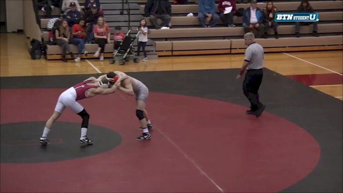 141 lbs m, Michael Carr, Illinois vs Cole Weaver, Indiana
