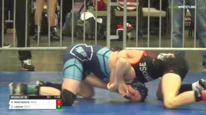 112 lbs Round of 16 - Shawn Mastropierro, Rednose MS vs Calvin Lederer, Sepa Ms