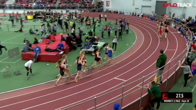 Women's Mile, Heat 18