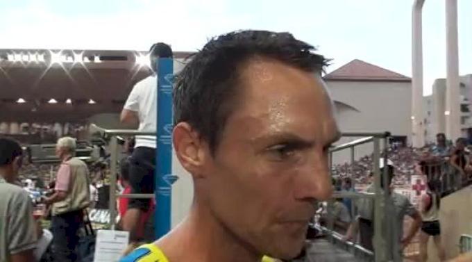 Nick Willis part 1 after 3.30 national record at 2012 Herculis Monaco
