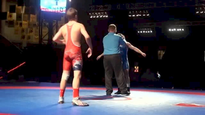 120 JF f, Zac Hall, MI vs Nathan Tomasello, OH