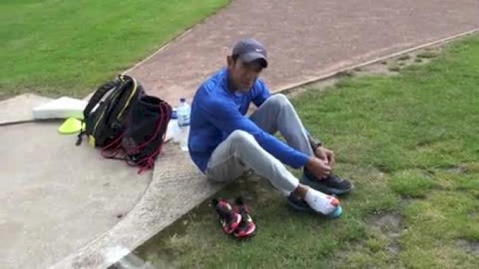 WOW - Leo Manzano Rainy Tempo Run