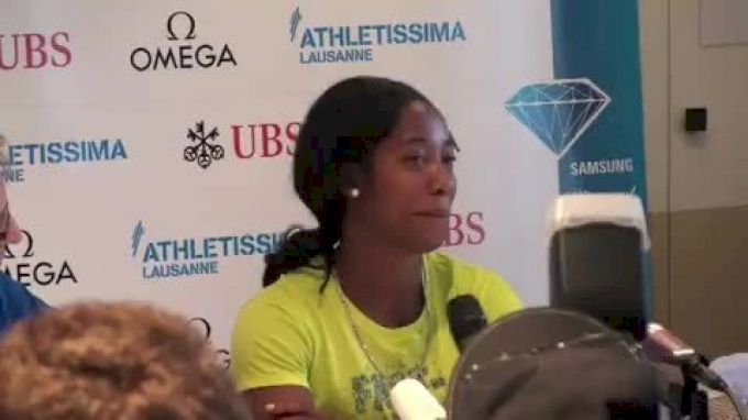 Shelly-Ann Fraser-Pryce on how 200 training has helped her 100