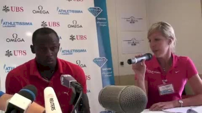 Usain Bolt looking to conclude season injury-free