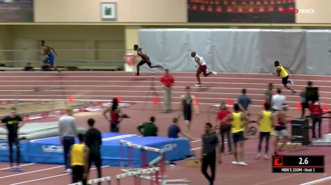 Men's 200m, Heat 1