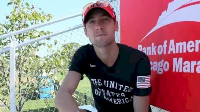 Dathan Ritzenhein ready for Chicago Marathon