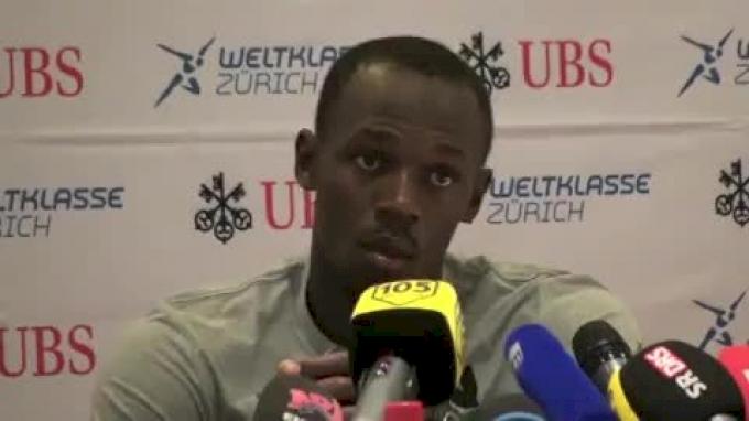 Usain Bolt on future long jump and 400m aspirations