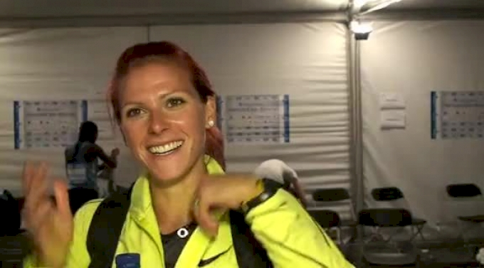 Anna Pierce back under two minute barrier at 2012 Brussels Diamond League