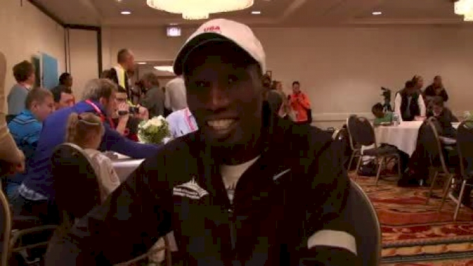 Chicago Marathon 2012 Pre-Race Interview-Wesley Korir Part 2