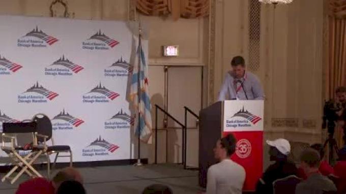 Chicago Marathon 2012 Press Conference-Men's Field