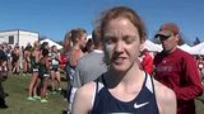 Allison Lasnicki UConn finishes 11th in best xc race ever at 2012 Wisco Invite
