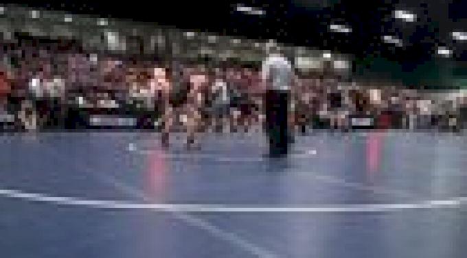 220 r2, Thomas Haines, PA vs Hunter McCleskey, GA