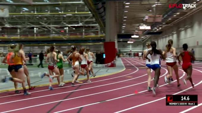 Women's 3k, Heat 2 - Kansas Women Go 1-2!