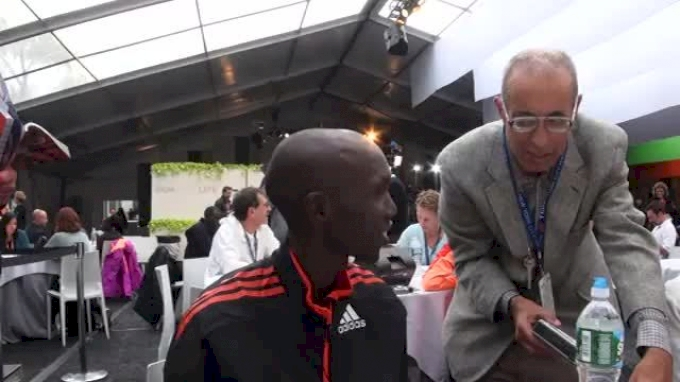 Wilson Kipsang ready to challenge course record at NYC Marathon