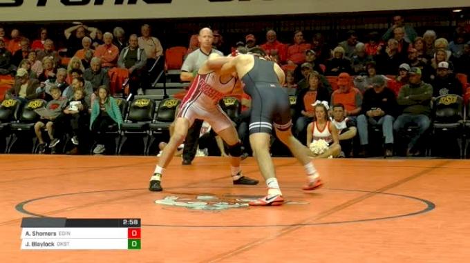 157 lbs Andrew Shomers, Edinboro vs Jonce Blaylock, Oklahoma State