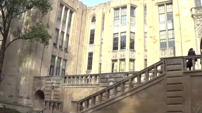 Charli Spivey Takes Us Inside Pitt's Unique Cathedral Hall