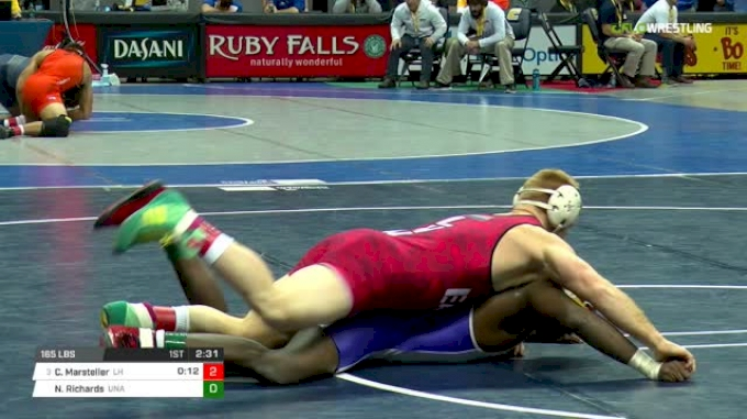 165 lbs Round of 16 - Chance Marsteller, Lock Haven vs Neal Richards, Unattached