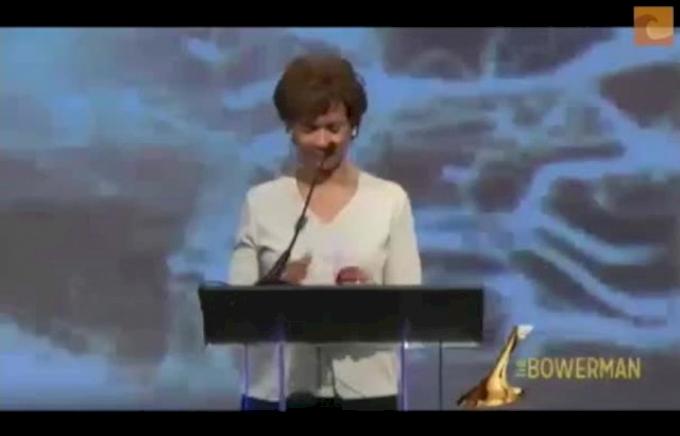 Women's 2012 Bowerman and Acceptance Speech - Kimberlyn Duncan
