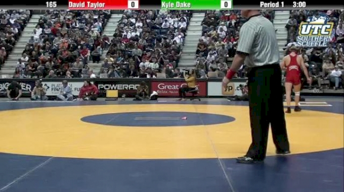 165 1st-Place-Match, Kyle Dake, Cornell vs David Taylor, Penn State