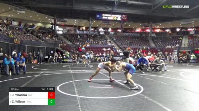 113 lbs Round Of 16 - Jesse YBARRA, Sunnyside Wrestling Club vs Cole Wilson, Team Nauman Wrestling Club