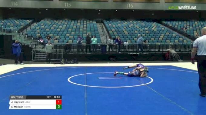 75 lbs Rr rnd 5 - Jayce Hayward, Academy Of Grappling Arts vs Cooper Milligan, Spanish Springs Wrestling Club