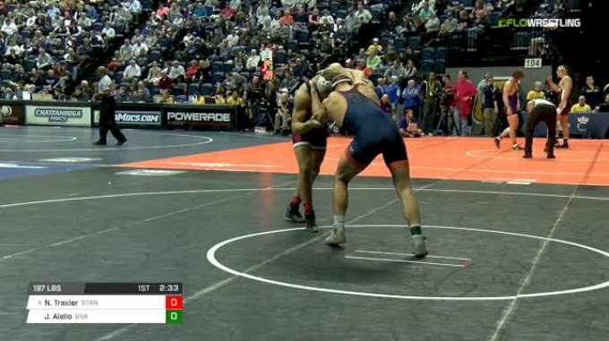 197 lbs Round of 16 - Nathan Traxler, Stanford vs Jay Aiello, Virginia