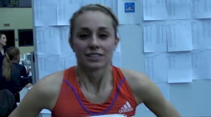 Brie Felnagle wins season opener 8.54 3k at 2013 UW Invite