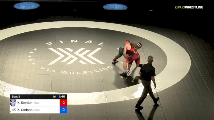 Final X Highlights Kyle Snyder vs Kyven Gadson
