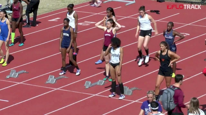 Women's 100m Hurdles, Heat 8