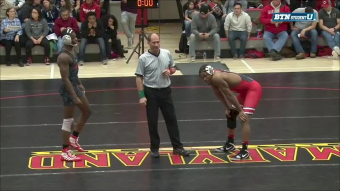 184 m, Myles Martin, Ohio State vs Jahi Jones, Maryland