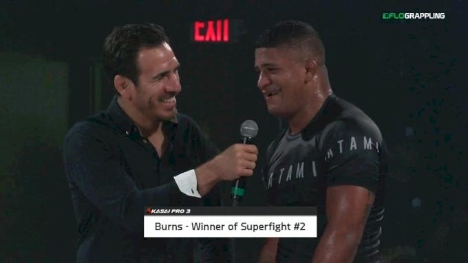 Burns vs Agazarm Post-Match Interviews KASAI Pro 3