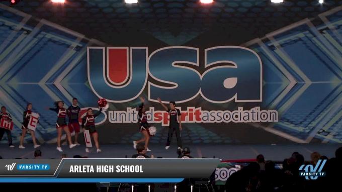 Arleta High School 2018 Co Ed Show Varsity Cheer Non Tumbling