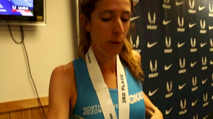 Stephanie Bruce Runs To Career-Best USATF Finish With Third In 10K