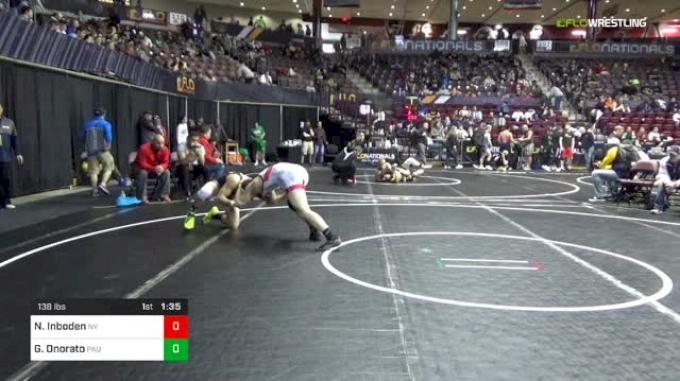 138 lbs Round Of 64 - Noah Inboden, Nelsonville-York vs Gabe Onorato, Paulsboro