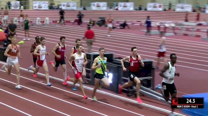 Men's 800m, Heat 1 - Brannon Kidder Destroys Field 1:47!