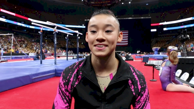 Interview: Leanne Wong - Day 1, 2018 US Championships