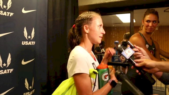 Shelby Houlihan Thought 3 Races At USAs Would Be A Nice Workout