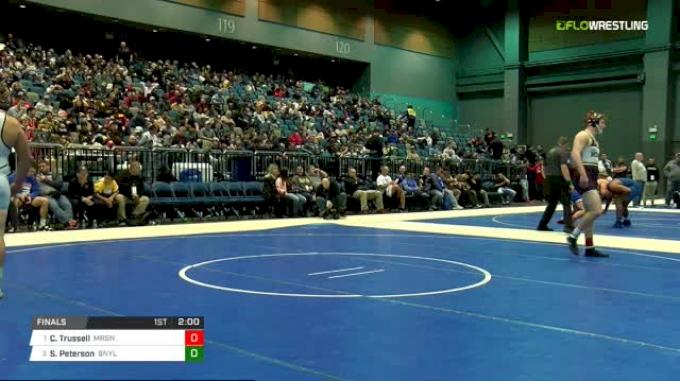 220 lbs Final - Chase Trussell, Morgan vs Sam Peterson, Bonney Lake