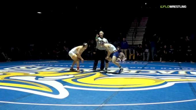 197 m, Nate Rotert, SDSU vs Cody Vigoren, Wyoming